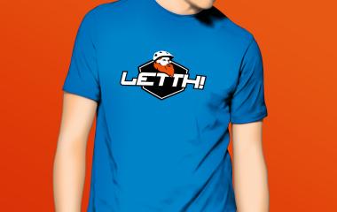 Kudos media design og profil logo for Letth
