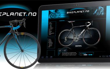 Kudos media webdesign bikeplanet.no