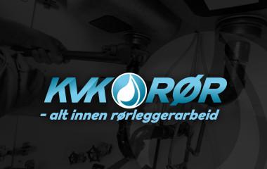 logo laget av Kudos media for KVK-rør