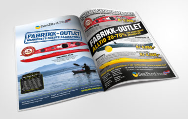 Annonse design SeaBird Kudos media