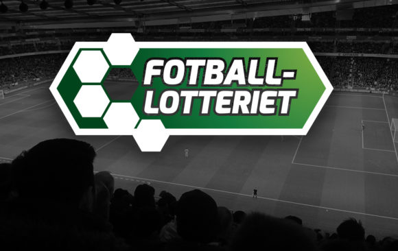Logo for Fotball-lotteriet av Kudos media