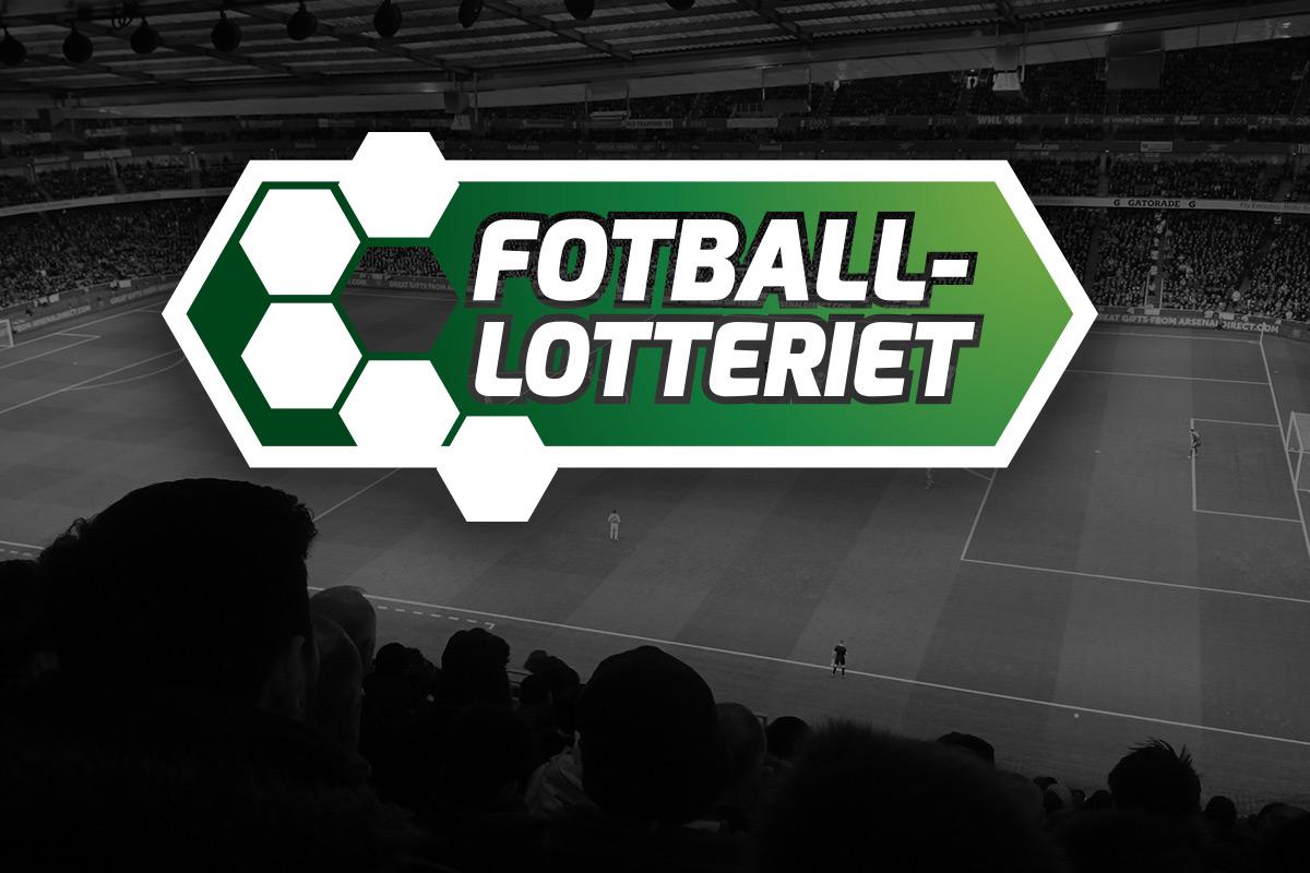 Logo for Fotball-lotteriet av Kudos media