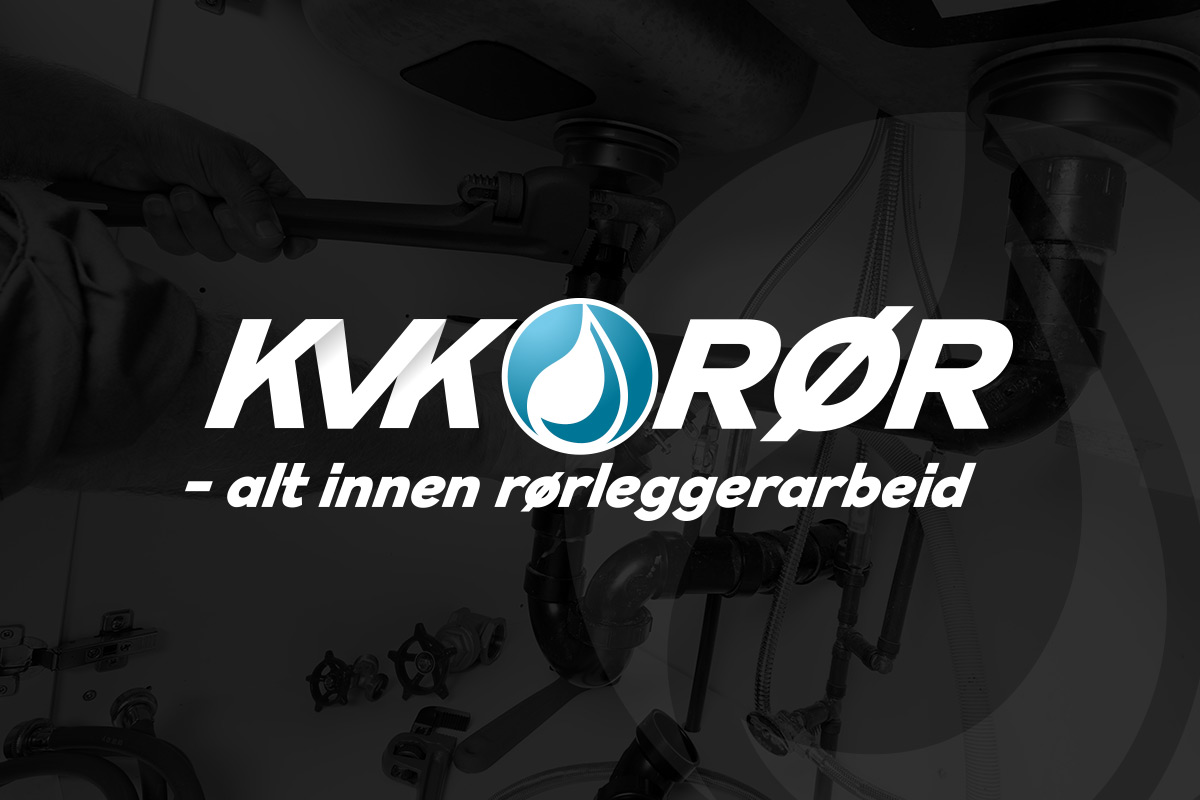 logo laget av Kudos media for KVK-rør