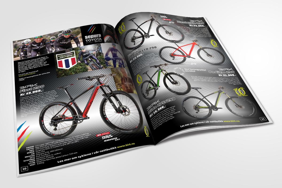 Birk Sport katalog laget av Kudos media