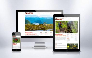 Webdesign Kudos Media for Letth