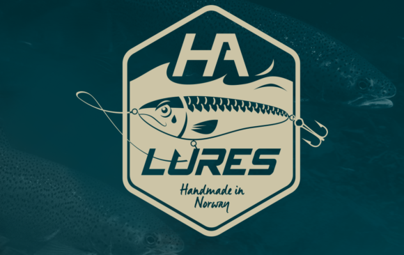 Kudos media logo for HA lures wobbler